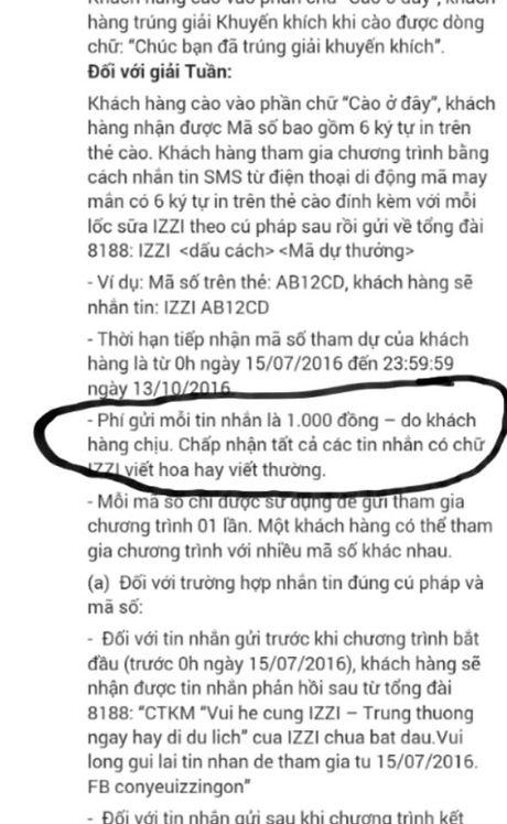 Chuong trinh khuyen mai 'Vui he cung IZZI bi to 'lua dao', 'map mo' - Anh 3
