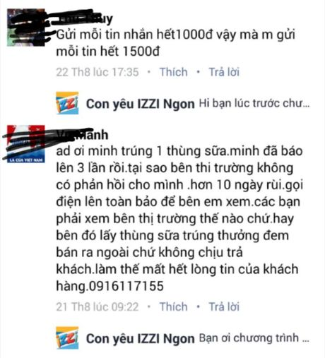 Chuong trinh khuyen mai 'Vui he cung IZZI bi to 'lua dao', 'map mo' - Anh 4
