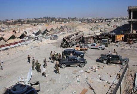 Khong kich du doi tai Aleppo, 30 thuong dan thiet mang - Anh 1