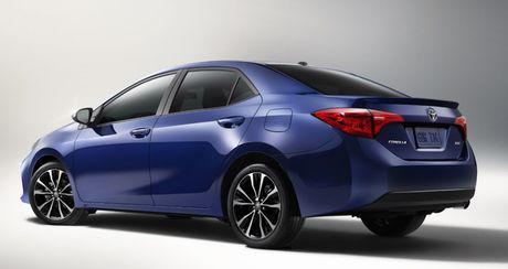 Toyota gioi thieu Corolla 2017 voi nhieu nang cap - Anh 3