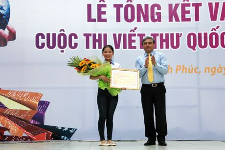Viet Nam gianh giai Nhat quoc te cuoc thi Viet thu quoc te UPU - Anh 1