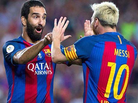 Barca khong Messi: Neymar va Suarez la qua du - Anh 2