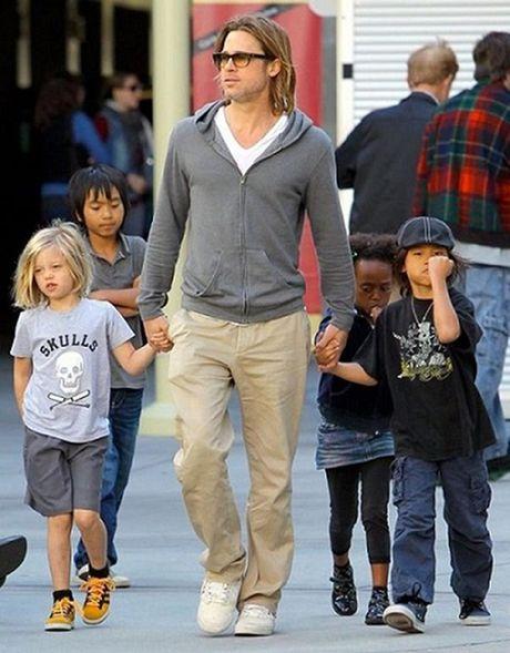 Brad Pitt bi canh sat dieu tra vi toi bao hanh tre em - Anh 1