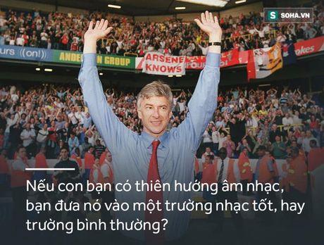 Arsene Wenger - sau nhung phat ngon tranh cai la con nguoi vi dai - Anh 12