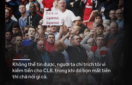 Arsene Wenger - sau nhung phat ngon tranh cai la con nguoi vi dai - Anh 14