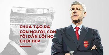 Arsene Wenger - sau nhung phat ngon tranh cai la con nguoi vi dai - Anh 1