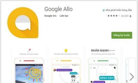 Google tung ung dung Allo canh tranh voi Facebook Messenger - Anh 1