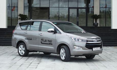 Toyota Innova 2016: Cuoc cach mang cua ke thong tri - Anh 1