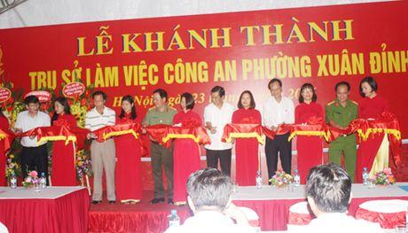 Khanh thanh tru so CAP Xuan Dinh - Anh 1