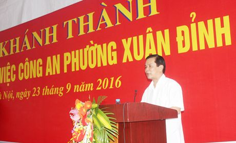 Khanh thanh tru so CAP Xuan Dinh - Anh 3