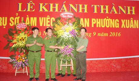 Khanh thanh tru so CAP Xuan Dinh - Anh 4