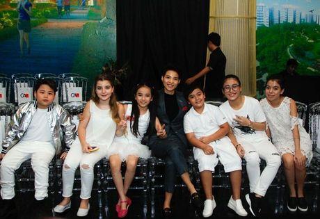 Vu Cat Tuong dua dan hoc tro The Voice Kids den ung ho Do Manh Cuong - Anh 4
