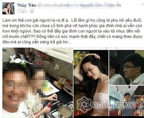 Thuy Tien noi gi ve vu Hoa hau Phuong Nga bi bat? - Anh 2
