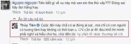 Thuy Tien noi gi ve vu Hoa hau Phuong Nga bi bat? - Anh 3