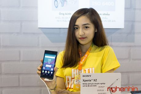 Sony Xperia XZ co gia chinh thuc 15 trieu, khuyen mai loa Bluetooth - Anh 1