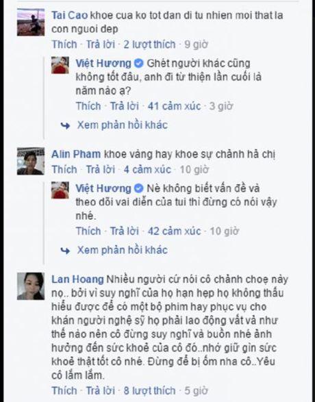 Danh hai Viet Huong thang than dap tra khi bi 'nem da' vi khoe vang - Anh 2