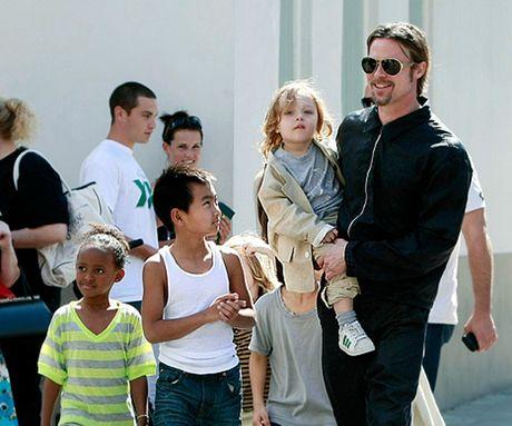 Brad Pitt bi dieu tra vi co hanh vi bao luc voi cac con - Anh 2