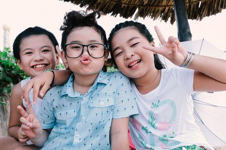 Noo Phuoc Thinh cung hoc tro quay MV bao ve moi truong - Anh 10