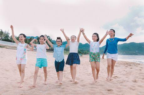 Noo Phuoc Thinh cung hoc tro quay MV bao ve moi truong - Anh 14
