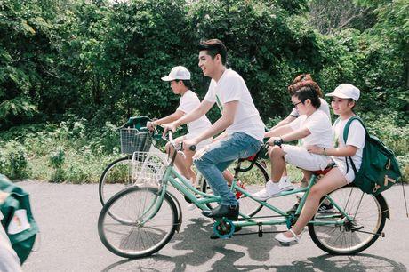 Noo Phuoc Thinh cung hoc tro quay MV bao ve moi truong - Anh 5