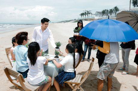 Noo Phuoc Thinh cung hoc tro quay MV bao ve moi truong - Anh 6