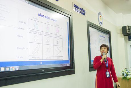 Sinh vien DH Y Duoc Thai Nguyen hoc bang may tinh bang - Anh 1