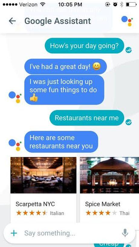 Google tung 'vu khi' doi trong voi Siri cua Apple - Anh 3