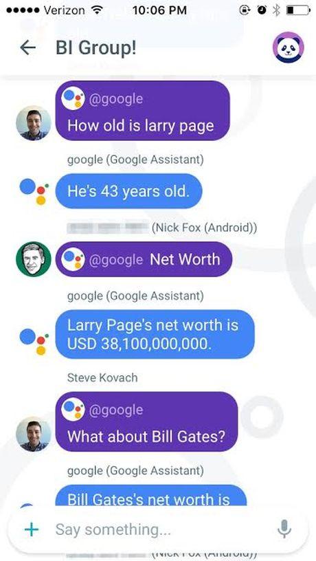 Google tung 'vu khi' doi trong voi Siri cua Apple - Anh 7
