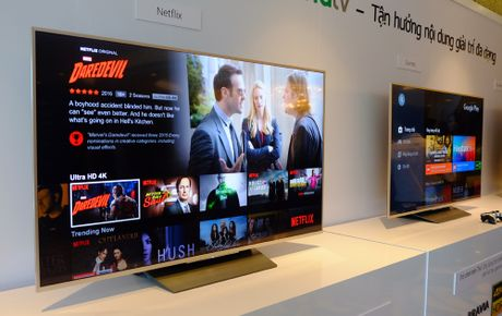 Cuoi thang 9/2016 Sony dua ra thi truong TV BRAVIA 4K HDR - Anh 1