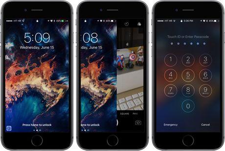 iOS 10 su dung co che mo khoa kho chiu voi nhieu nguoi, nhung dieu do nam trong tinh toan cua Apple - Anh 1
