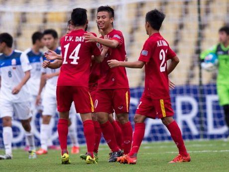 U16 Viet Nam chi cach World Cup U17 mot tran dau - Anh 2