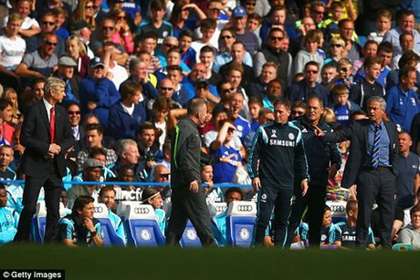 Jose Mourinho: 'Mot ngay nao do, toi se tim Wenger va dap VO MAT ong ta' - Anh 5