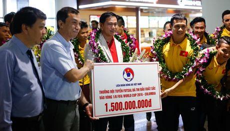 Futsal Viet Nam se tro lai World Cup, tuyen Viet Nam giao huu FC Seoul - Anh 1