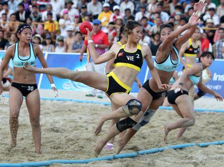 Bóng ném nữ Việt Nam có chiến thắng quan trọng trước Đài Loan