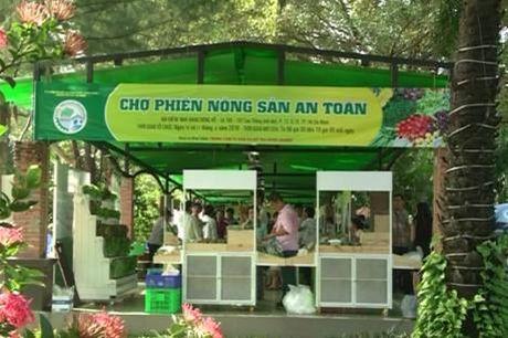 Tp.Hồ Chí Minh nhân rộng 'Chợ phiên nông sản an toàn'