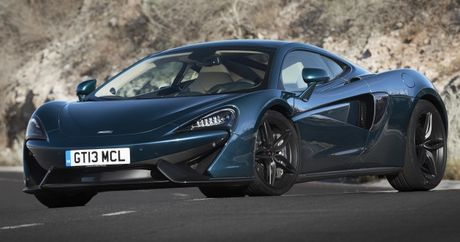 McLaren 570GT MSO Concept doc dao trong mau xanh Pacific Blue - Anh 1