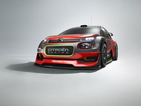 Citroen tro lai voi mau C3 WRC Concept tai WRC 2017 - Anh 1