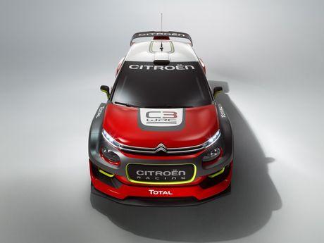 Citroen tro lai voi mau C3 WRC Concept tai WRC 2017 - Anh 2