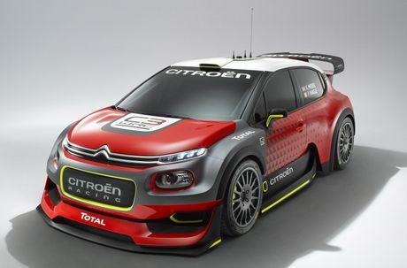 Citroen tro lai voi mau C3 WRC Concept tai WRC 2017 - Anh 3
