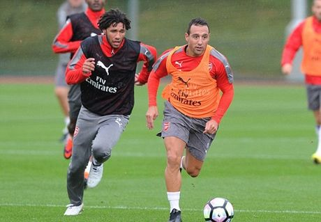 Dan sao Arsenal hang say tap luyen, huong den chien thang thu 5 lien tiep - Anh 3