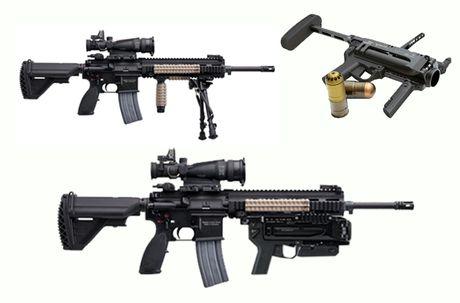 Sung truong HK-416 lai sung phong luu M320: 'Than chet la day' - Anh 10