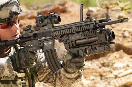 Sung truong HK-416 lai sung phong luu M320: 'Than chet la day' - Anh 1