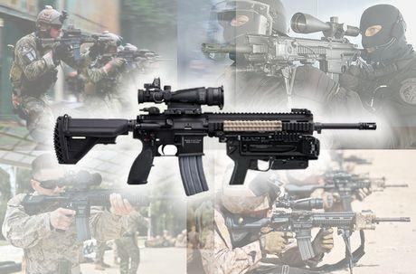 Sung truong HK-416 lai sung phong luu M320: 'Than chet la day' - Anh 4