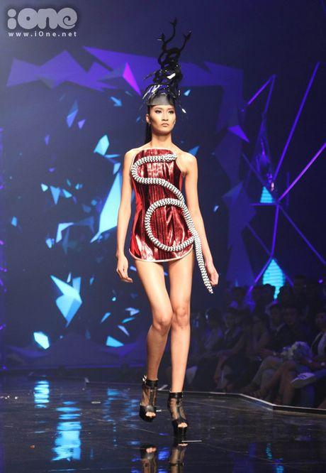 Ngoc Chau la Quan quan Vietnam's Next Top Model 2016 - Anh 9