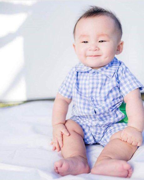 He lo nhung hinh anh it biet ve chong va con 'be' Xuan Mai - Anh 4
