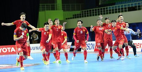 DT Futsal Viet Nam doat giai tai Futsal World Cup 2016 - Anh 1