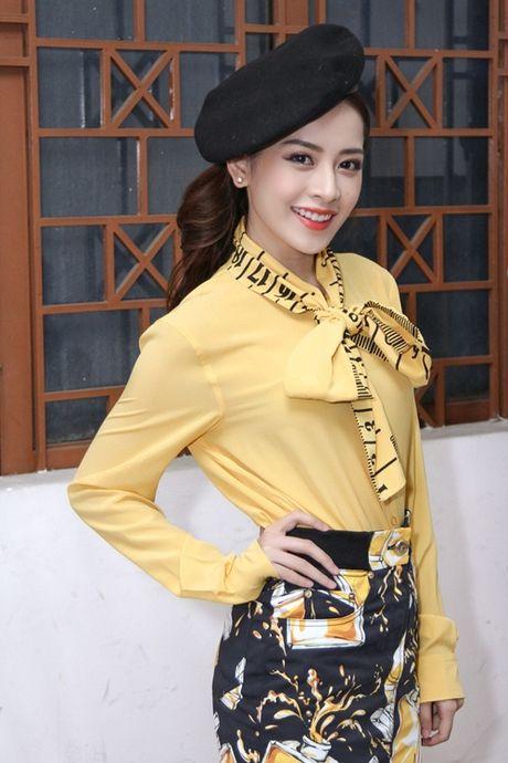 Quang Vinh am tham den ung ho Chi Pu lam MC - Anh 7