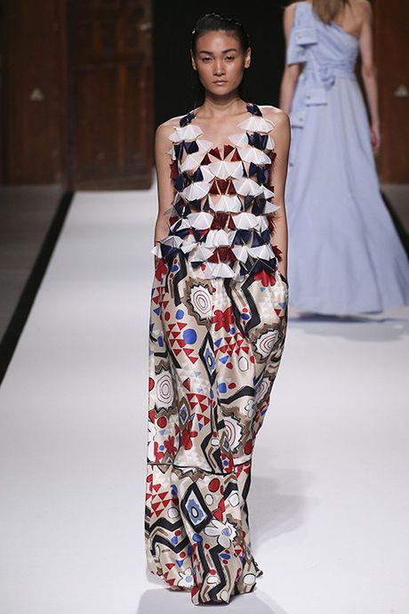 Thuy Trang, Thanh Thao cung trung show tai Paris Fashion Week - Anh 3