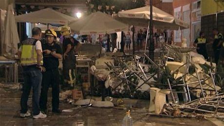 Tay Ban Nha: No kinh hoang tai hoi cho, it nhat 77 nguoi bi thuong - Anh 2