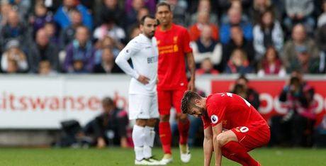 Liverpool nhan tin du sau chien thang truoc Swansea - Anh 1